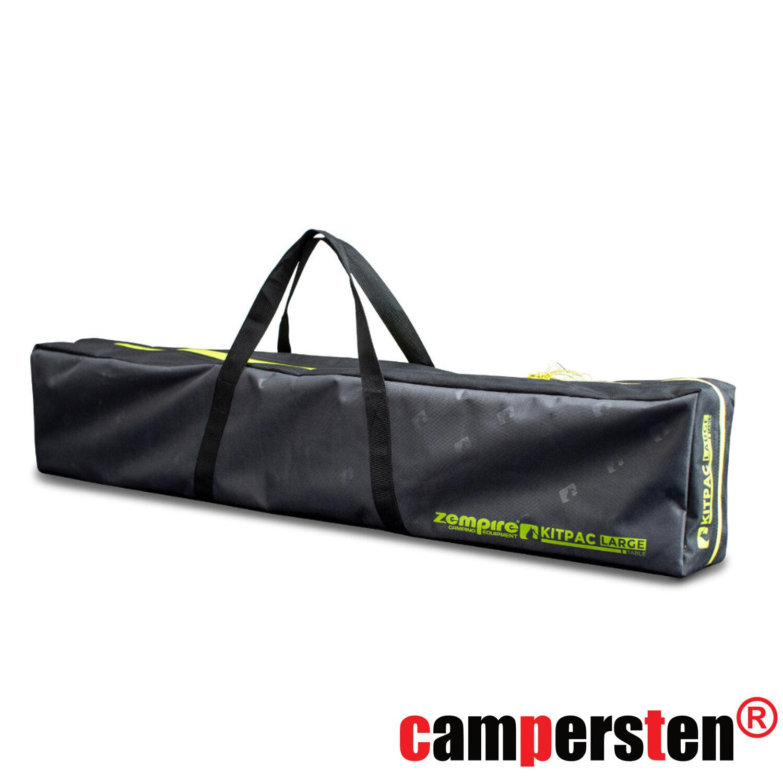 am campersten design campingtisch xxl mit bambusplatte