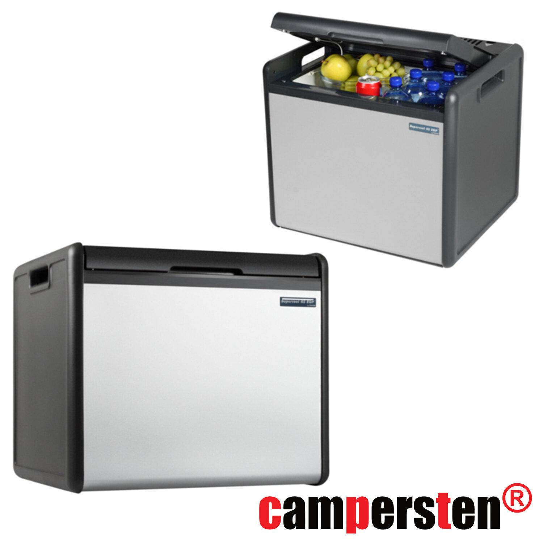 camping xl k hlbox 39liter f r gas oder elektrisch 12v 220v steckdose oder 324 99. Black Bedroom Furniture Sets. Home Design Ideas