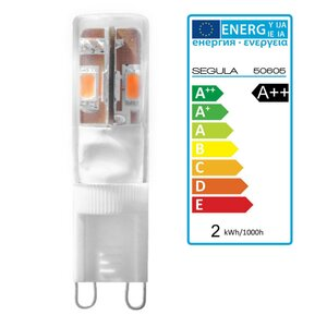 LED G9 Stift, 1,5Watt Reflektor, warmweiss, Segula 50605...