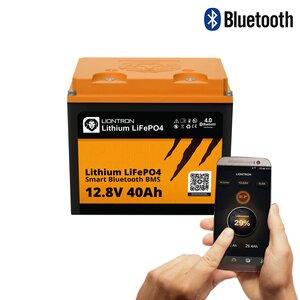 LIONTRON LiFePO4 12,8V 40Ah LX smart BMS mit Bluetooth