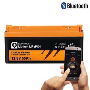 LIONTRON LiFePO4 12,8V 55Ah LX Smart BMS mit Bluetooth