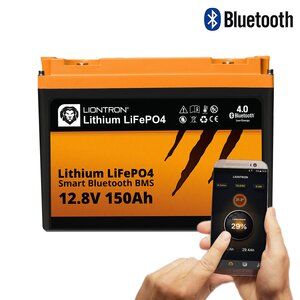 LIONTRON LiFePO4 12,8V 150Ah LX Smart BMS mit Bluetooth