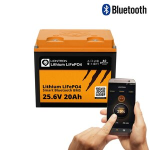 LIONTRON LiFePO4 25,6V 20Ah LX Smart BMS mit Bluetooth