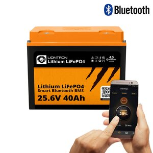 LIONTRON LiFePO4 25,6V 40Ah LX Smart BMS mit Bluetooth