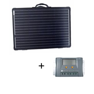 120W Solarkoffer ULTRA LIGHT WS120SUL WS MPPT Set