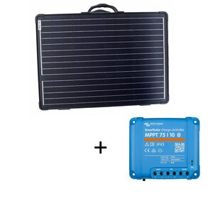 100W Solarkoffer ULTRA LIGHT WS100SUL Victron MPPT BT Set