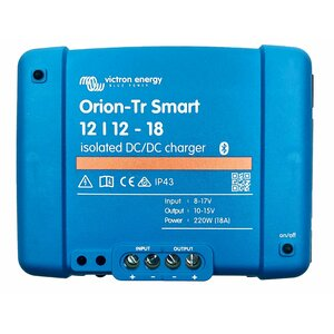 Ladebooster Victron Orion-Tr Smart 12/12-18A DC-DC...