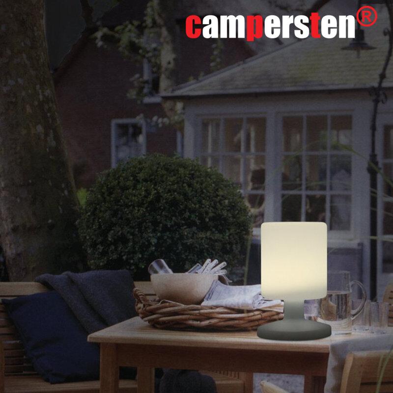 die edle wei e akku tischleuchte ohne kabel gibt es hier g nstig zu kaufen 49 95. Black Bedroom Furniture Sets. Home Design Ideas