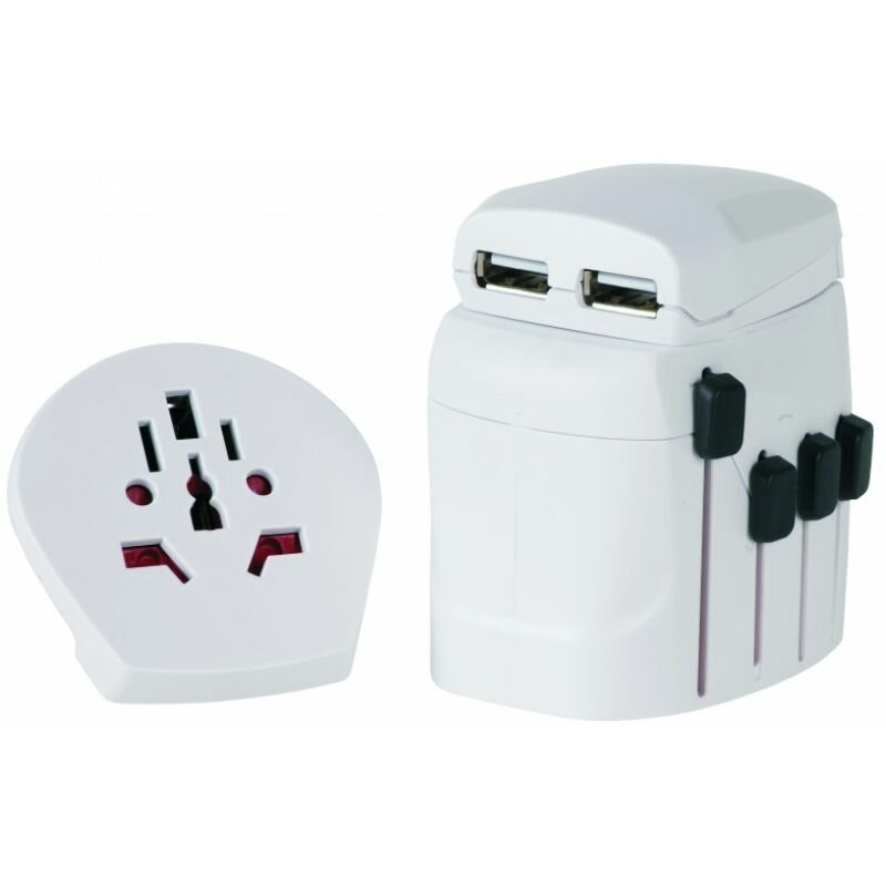 World Adapter Pro+ USB Skross 1.302500 Weltreisestecker + USB