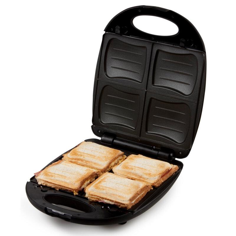xl familien sandwich toaster sandwichmaker mit. Black Bedroom Furniture Sets. Home Design Ideas