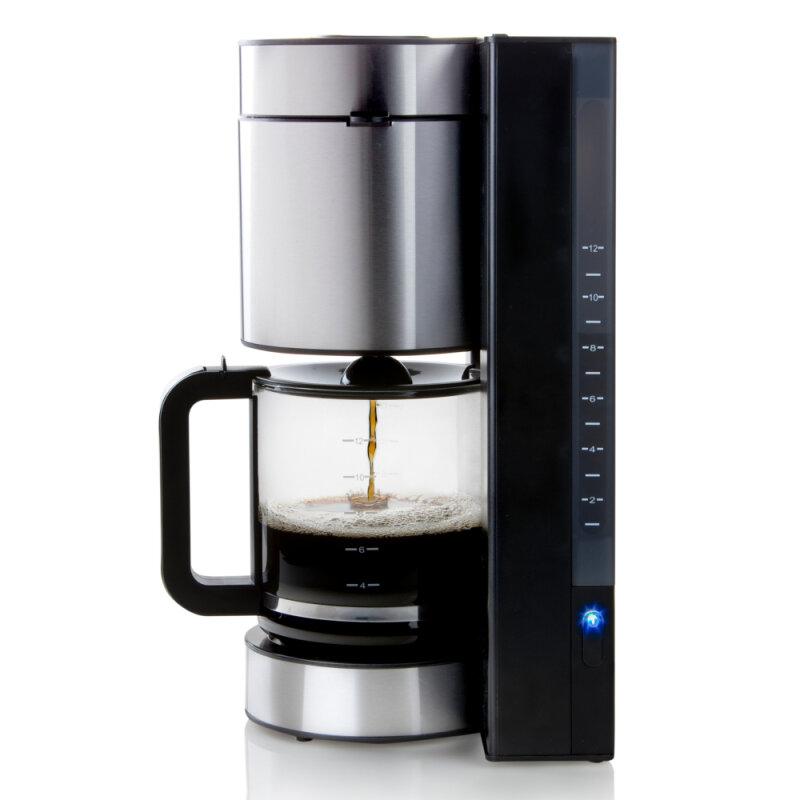 design kaffeemaschine mit extra gro er 1 5l kanne und. Black Bedroom Furniture Sets. Home Design Ideas