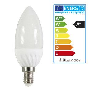 LED Reflektor Leuchtmittel mit E14 Fassung 6500K kaltweiß XQ1411