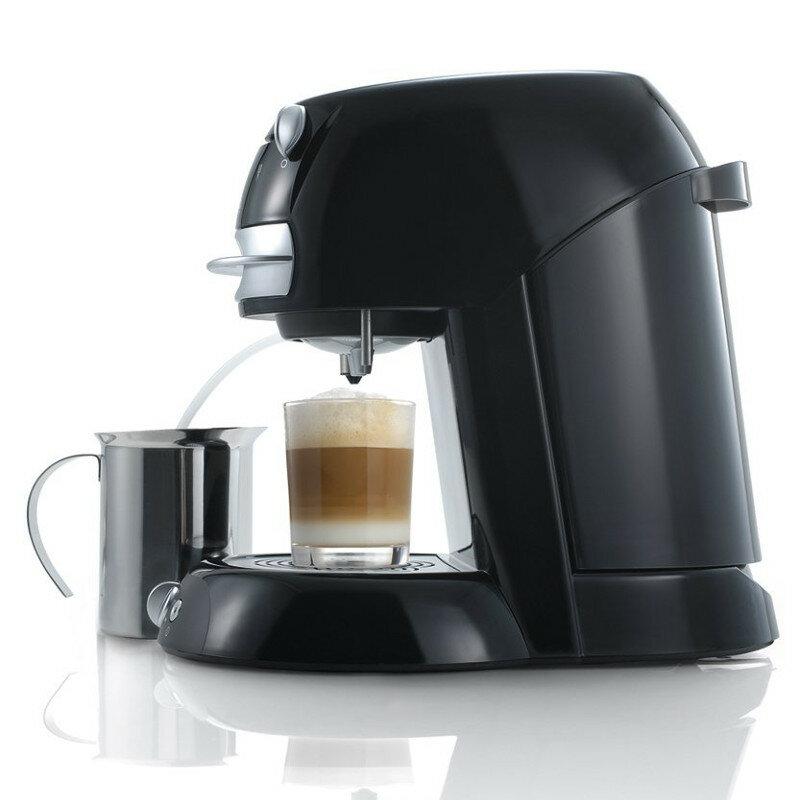 kaffee pad automat f r 2 tassen kaffee espresso cappuccino petra km 103 28. Black Bedroom Furniture Sets. Home Design Ideas