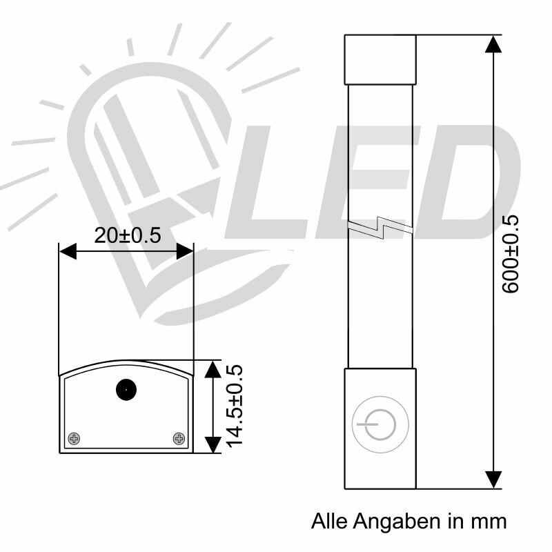 Berühmt Led Lichtleiste Schaltplan Zeitgenössisch - Der Schaltplan ...