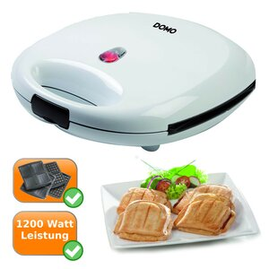 XL 2in1 Sandwich-Toaster + Waffeleisen DOMO DO9046C
