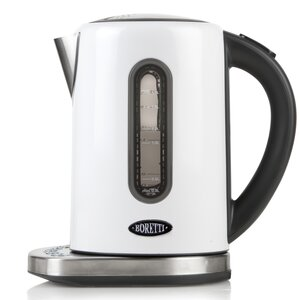Water kettle, digital, white