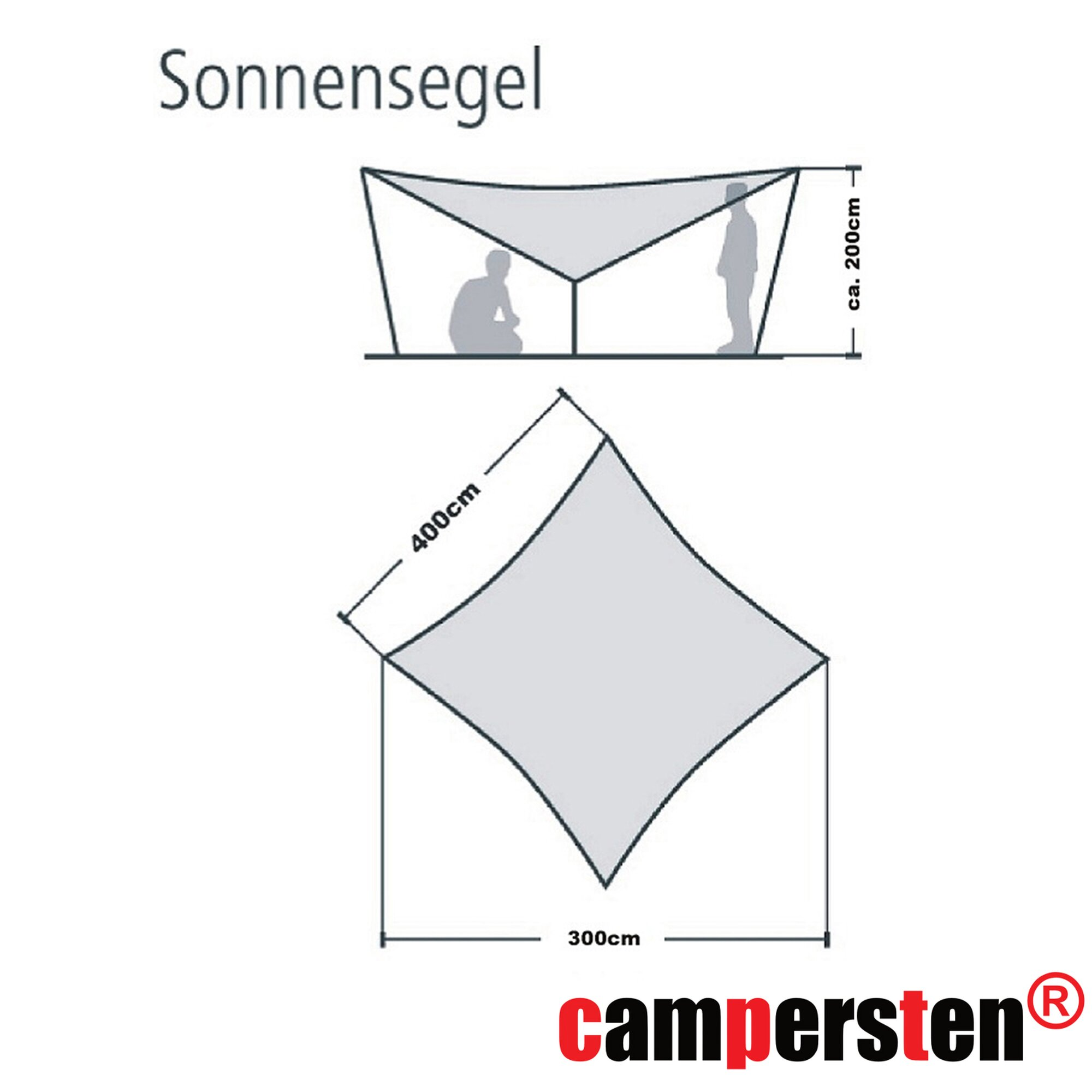sonnensegel leinen camping sonnensegel x m wasserdicht freistehend mit gestnge und gestnge with. Black Bedroom Furniture Sets. Home Design Ideas