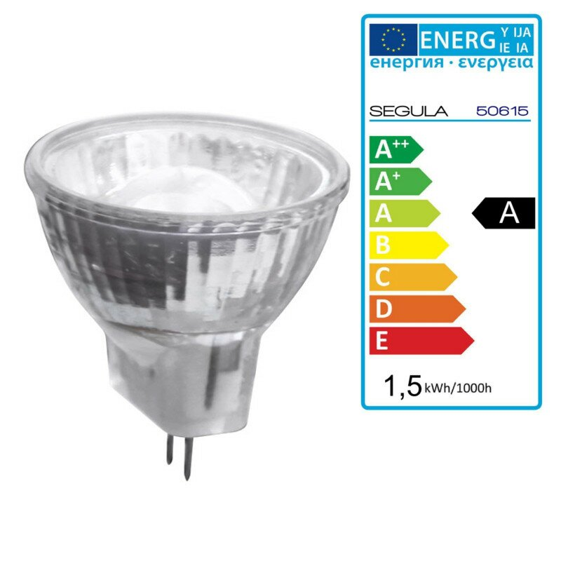 LED Reflektor MR11 G4, 1,5Watt Segula 50615 LED Energiesparlampe